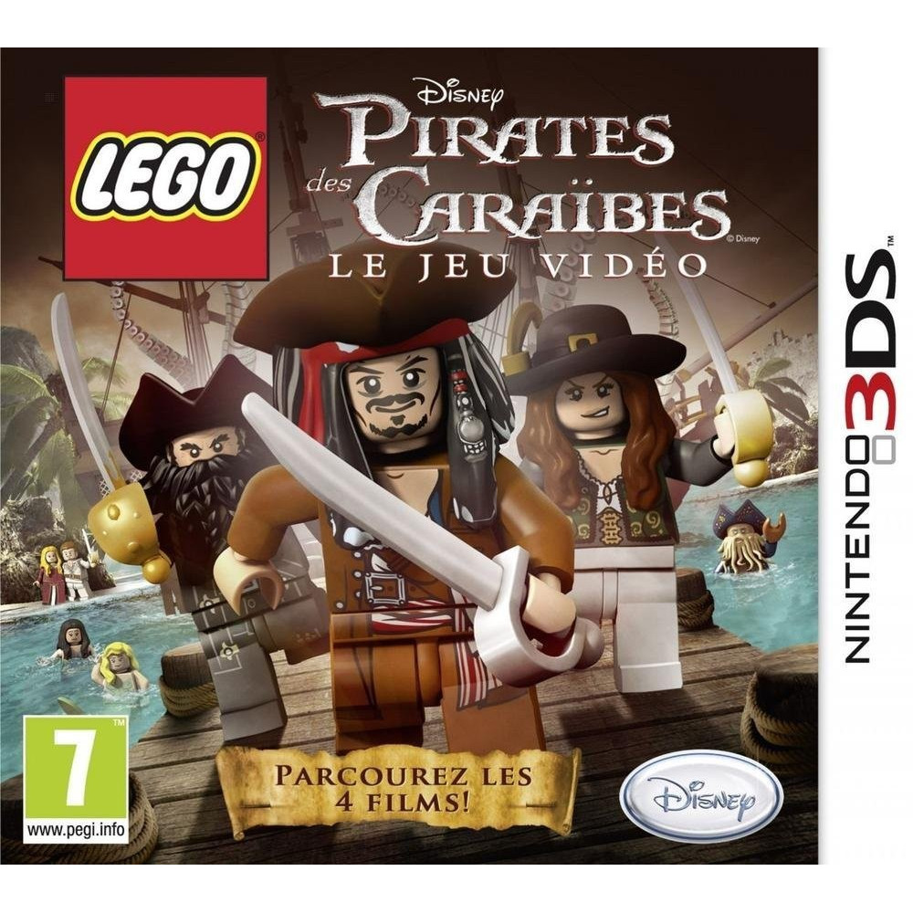 LEGO PIRATES DES CARAIBES 3DS PAL-FR OCCASION