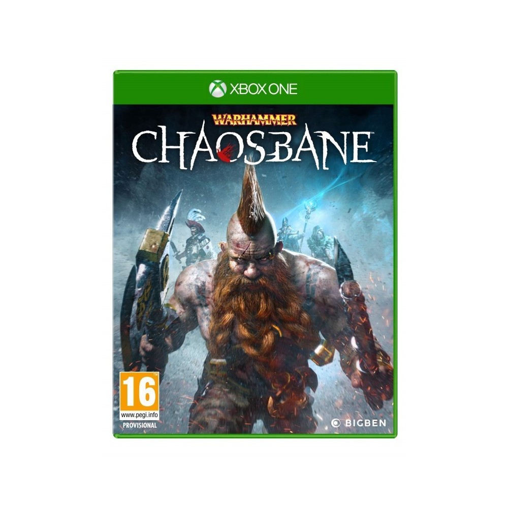 WARHAMMER CHAOSBANE XBOX ONE UK NEW