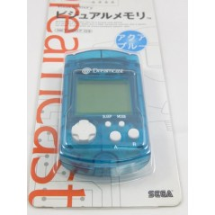 VISUAL MEMORY AQUA BLUE DREAMCAST JPN (MINT)