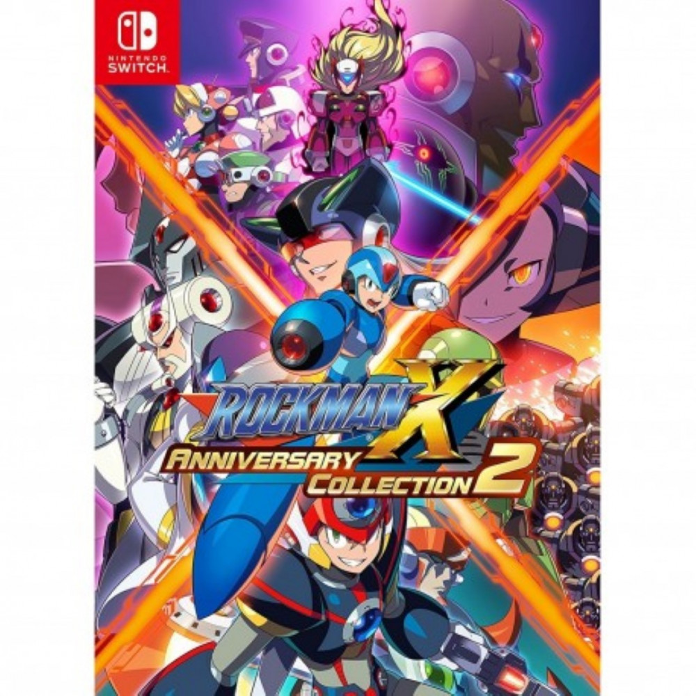 ROCKMAN X ANNIVERSARY COLLECTION 2 SWITCH JAP OCCASION