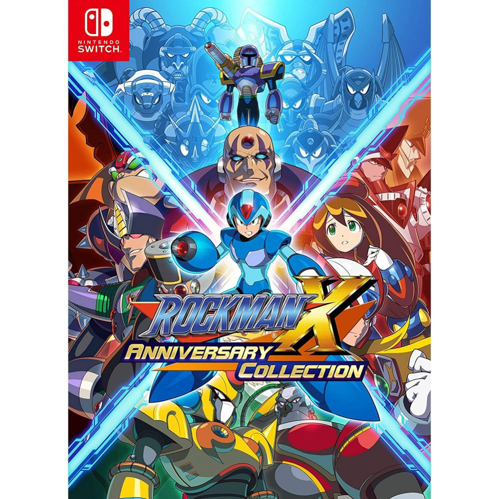 ROCKMAN X ANNIVERSARY COLLECTION SWITCH JAP OCCASION