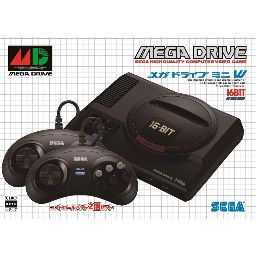 MEGA DRIVE MINI W JPN NEW