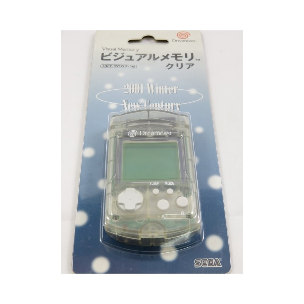 VISUAL MEMORY CLEAR 2001 WINTER NEW CENTURY LIMITED DREAMCAST JPN (MINT)