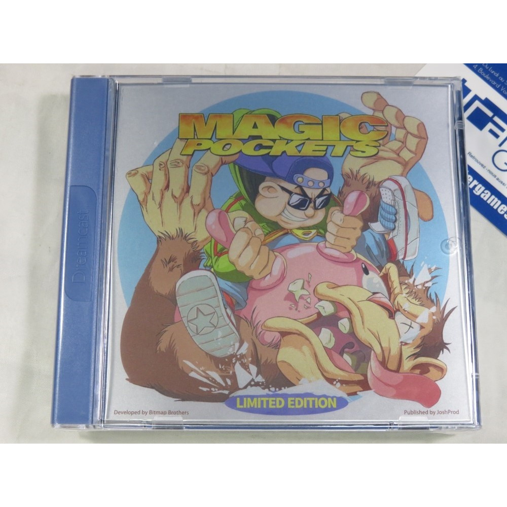 MAGIC POCKETS LIMITED EDITION DREAMCAST PAL-EURO NEW