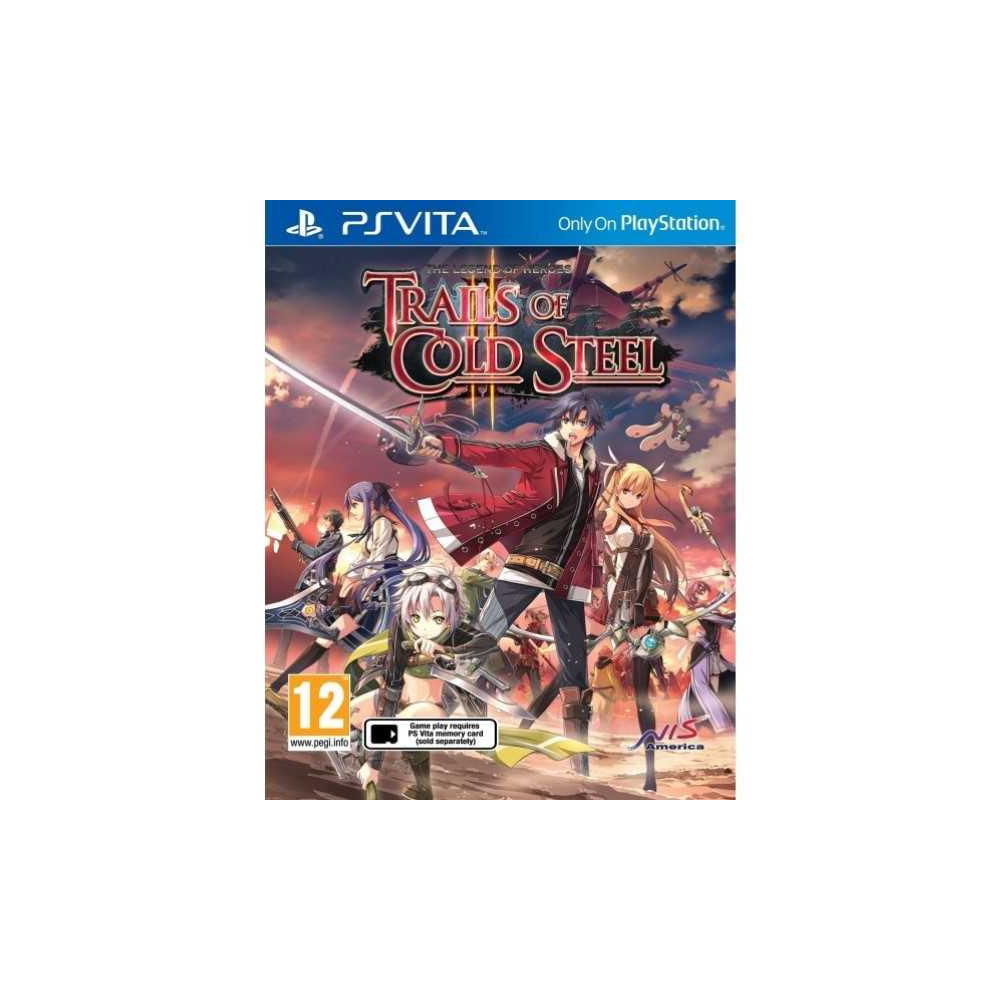 THE LEGEND OF HEROES TRAILS OF COLD STEEL 2 PSVITA FR NEW