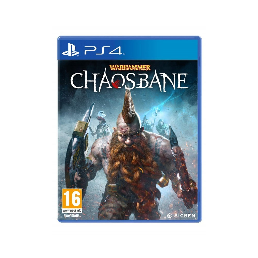 WARHAMMER CHAOSBANE PS4 FR OCCASION