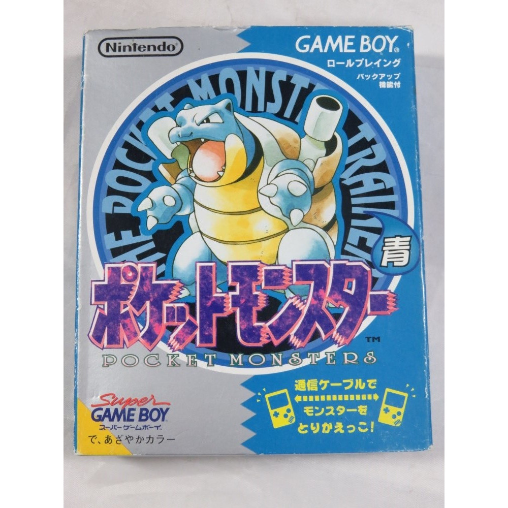 POCKET MONSTERS BLEU (POKEMON AO) GAMEBOY JPN OCCASION