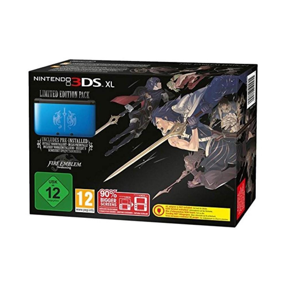 CONSOLE 3DS XL BLEUE FIRE EMBLEM AWAKENING FR OCCASION