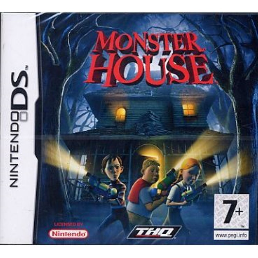MONSTER HOUSE NDS FR OCCASION