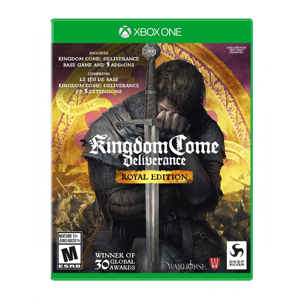 KINGDOM COME DELIVERANCE ROYAL EDITION PS4 EURO FR NEW