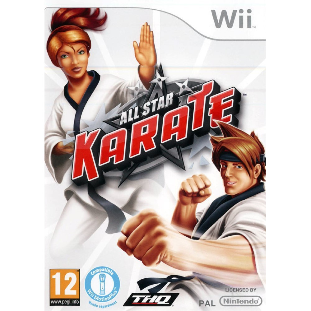 ALL STAR KARATE WII PAL-FR OCCASION