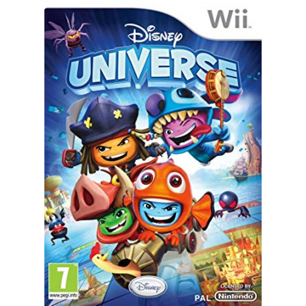 DISNEY UNIVERSE WII PAL-FRA OCCASION