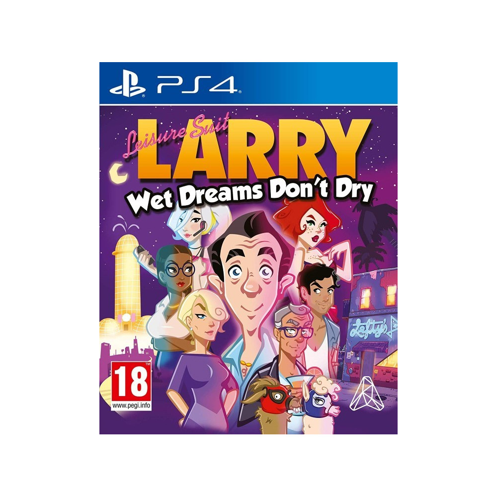 LEISURE SUIT LARRY WET DREAMS DON T DRY PS4 UK NEW