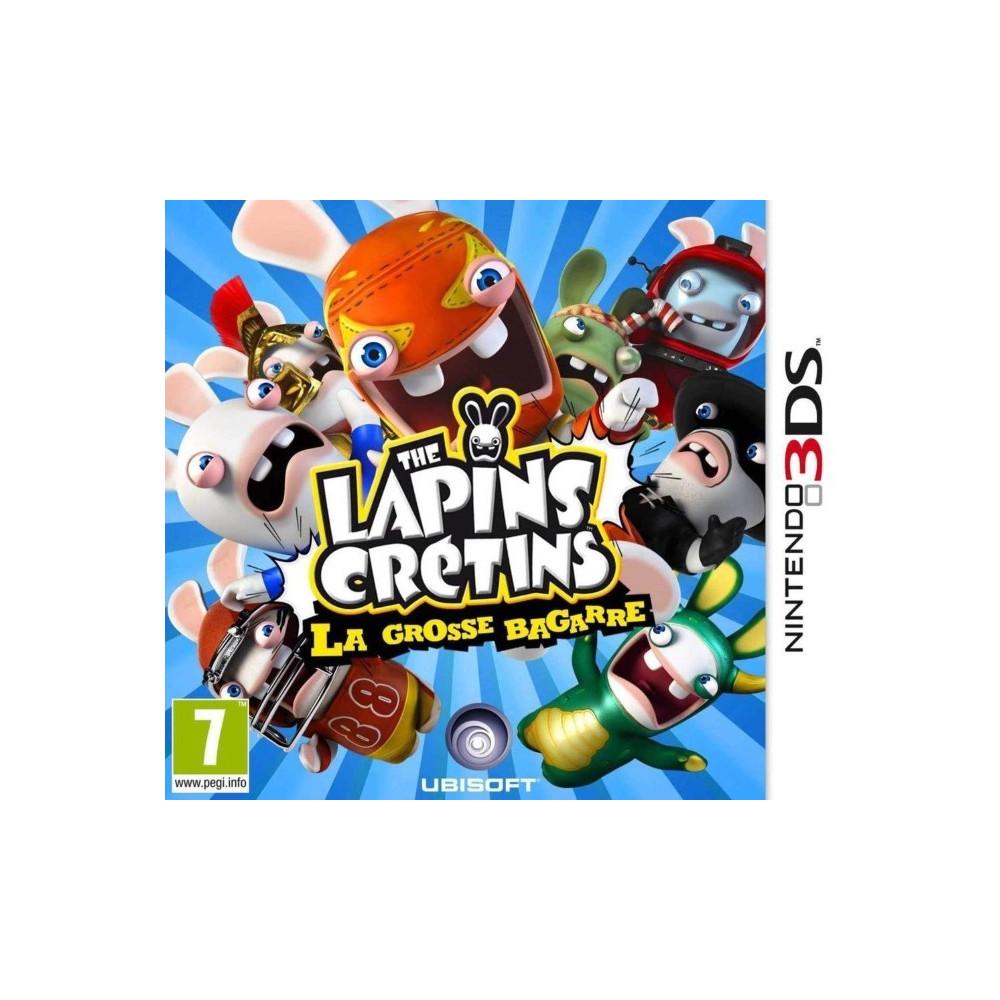 LAPINS CRETINS..BAGARRE 3DS FR OCCASION