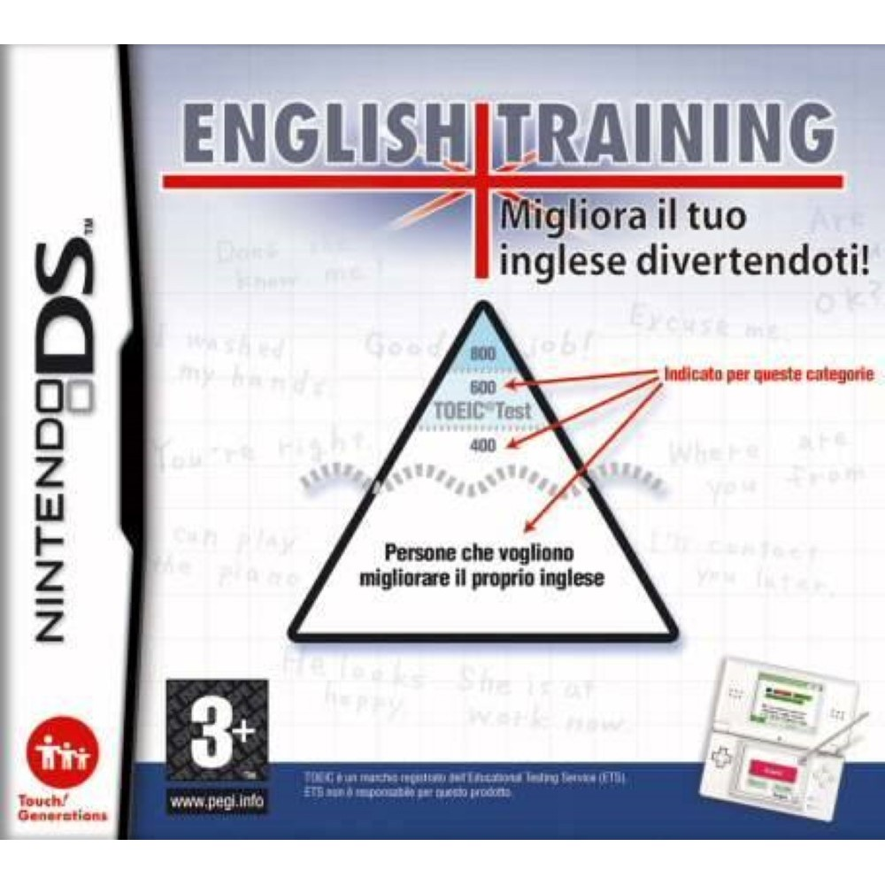 ENGLISH TRAINING NDS FR OCCASION