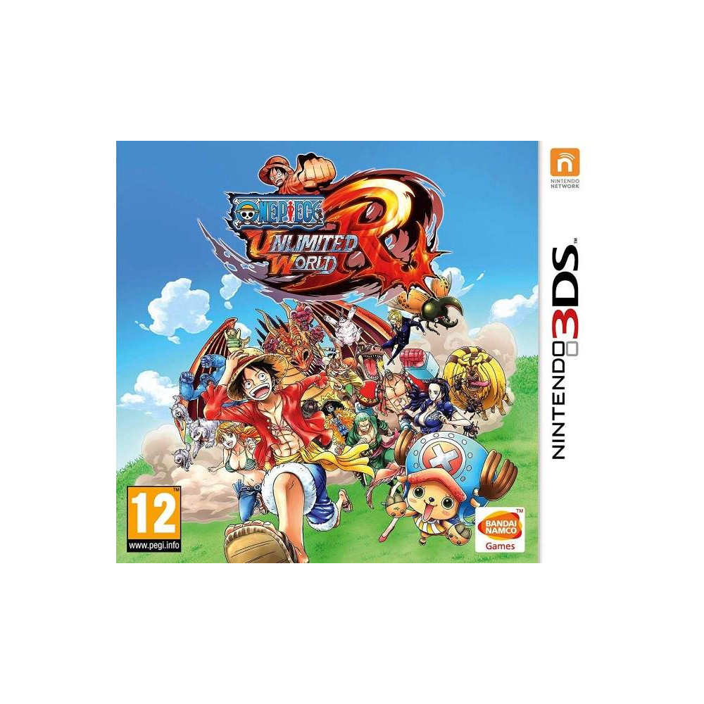 ONE PIECE UNLIMITED WORLD RED 3DS FR OCCASION