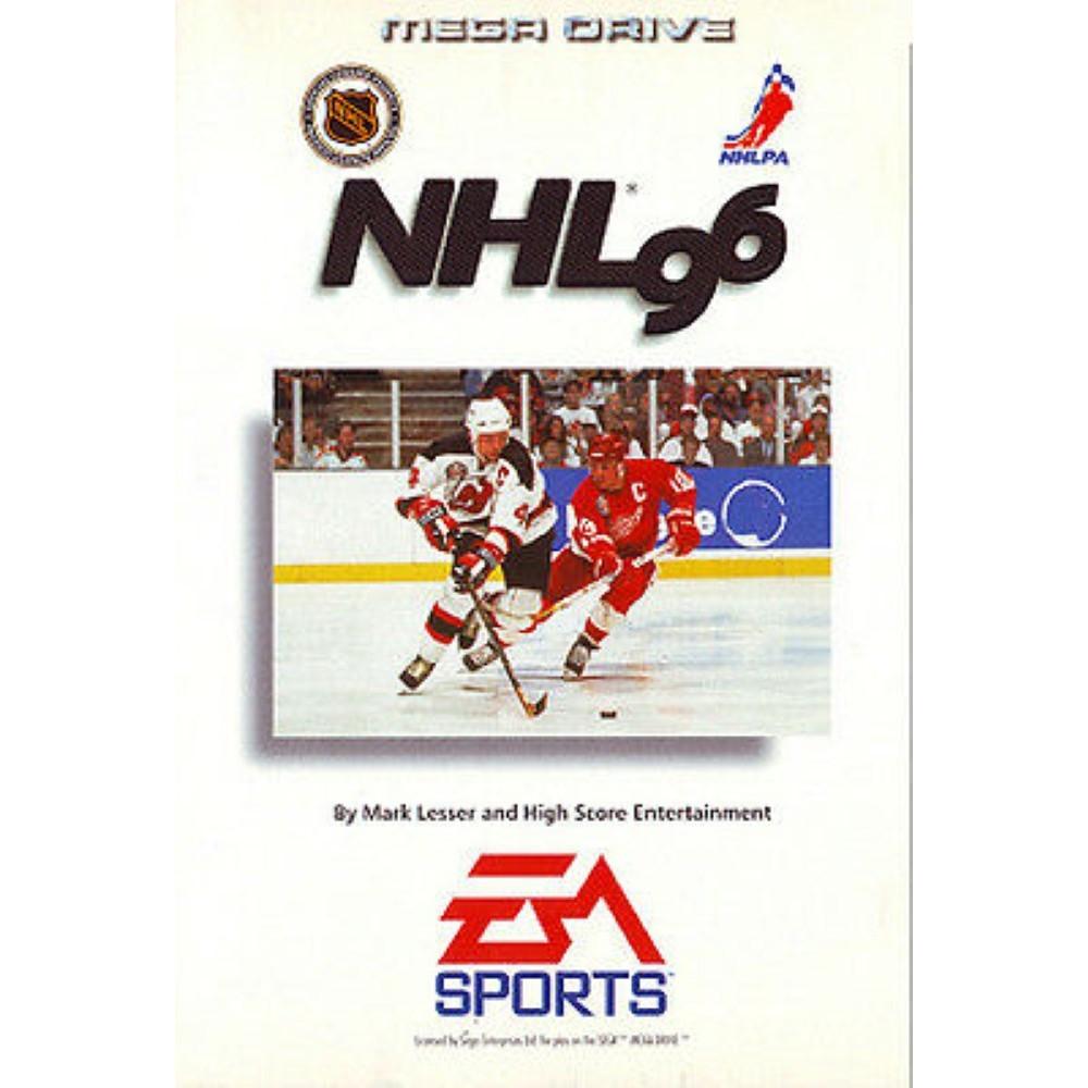 NHL 96 MEGADRIVE PAL-EURO OCCASION (ETAT B)