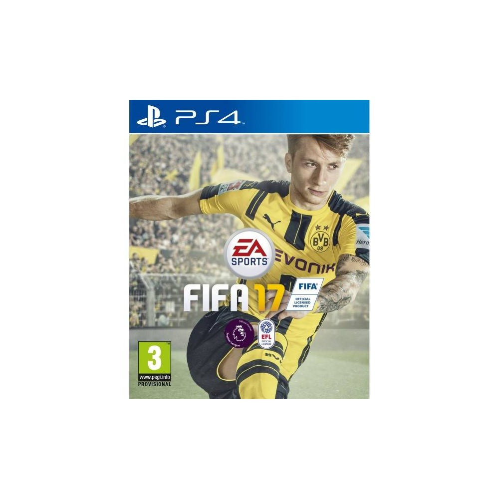 FIFA 17 DELUXE ED. PS4 FR OCCASION