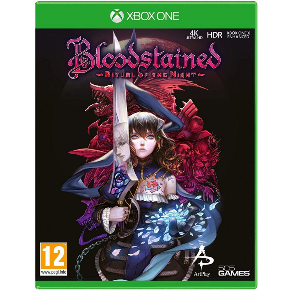 BLOODSTAINED RITUAL OF THE NIGHT XBOX ONE UK NEW
