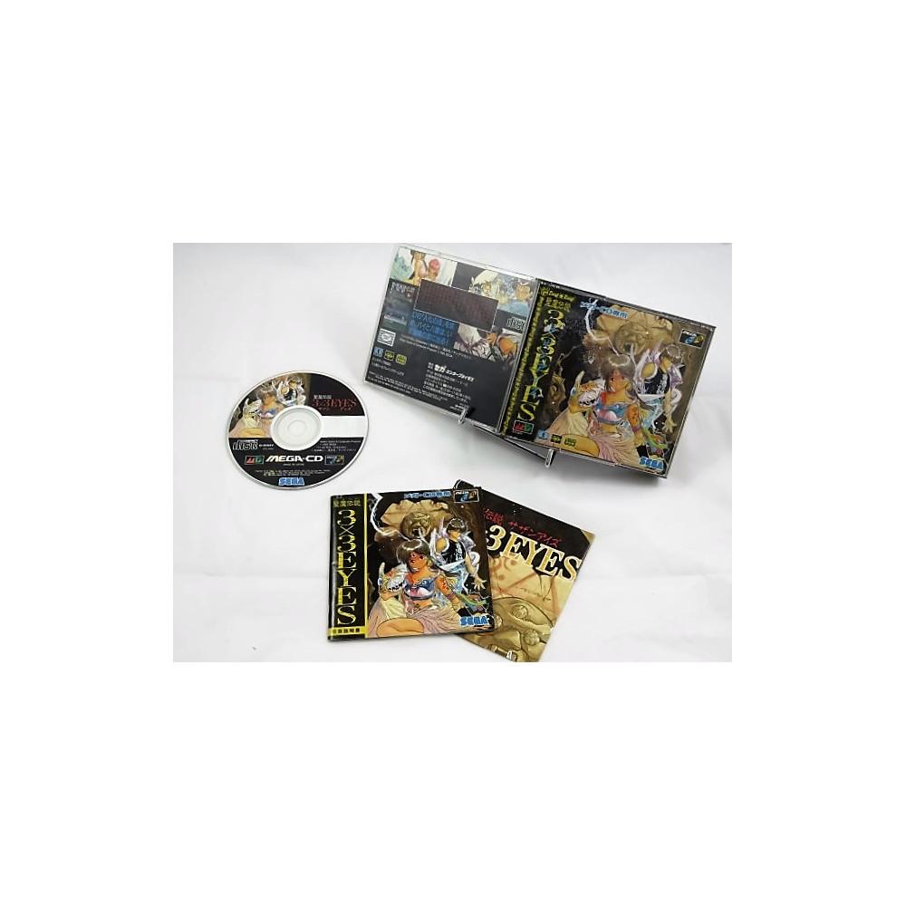 3X3 EYES MEGA CD JPN OCCASION