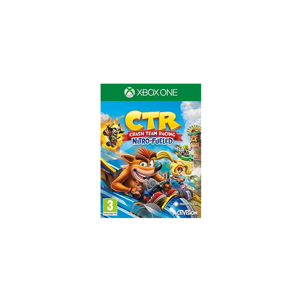 CTR CRASH BANDICOOT OXIDE EDITION XBOX ONE UK NEW
