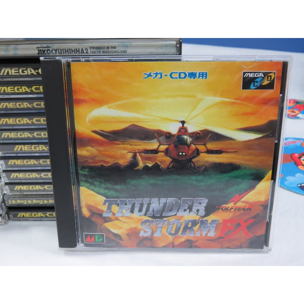 THUNDER STORM FX (+SPIN CARD) MEGA-CD JPN OCCASION