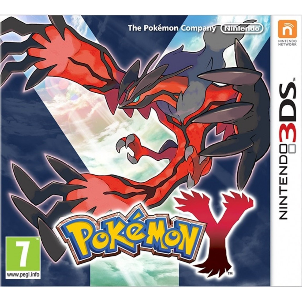 POKEMON Y 3DS UK OCCASION
