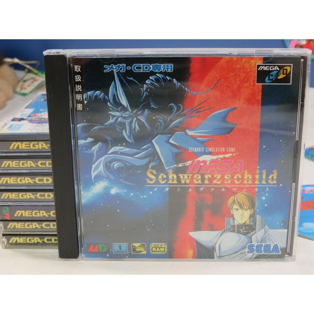 MEGA SCHWARZSCHILD (+SPIN CARD) MEGA-CD JPN OCCASION