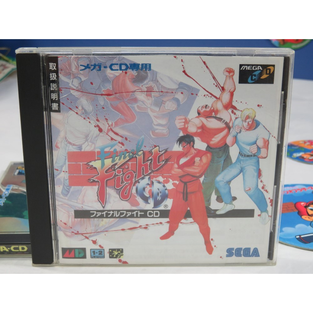 FINAL FIGHT CD MEGA-CD JPN OCCASION