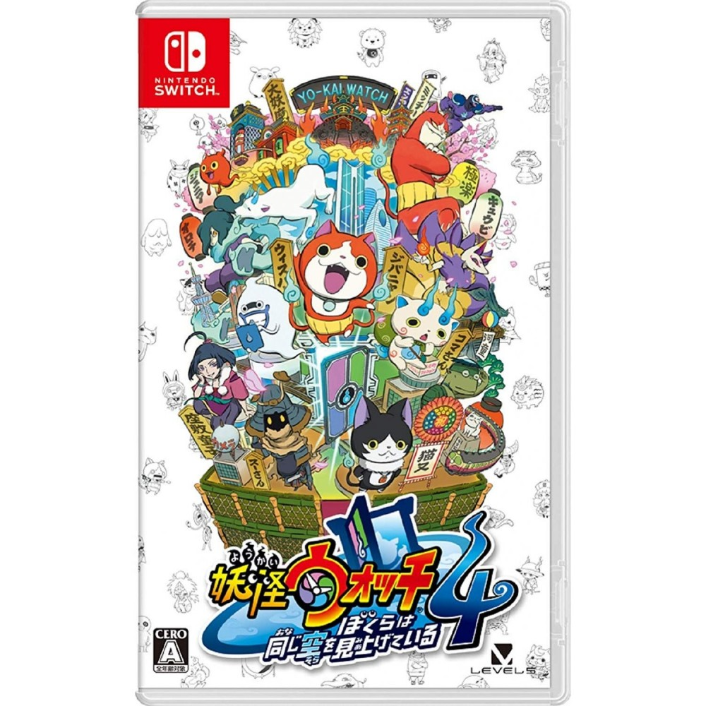 YO-KAI WATCH 4: WE'RE LOOKING UP AT THE SAME SKY SWITCH JPN NEW