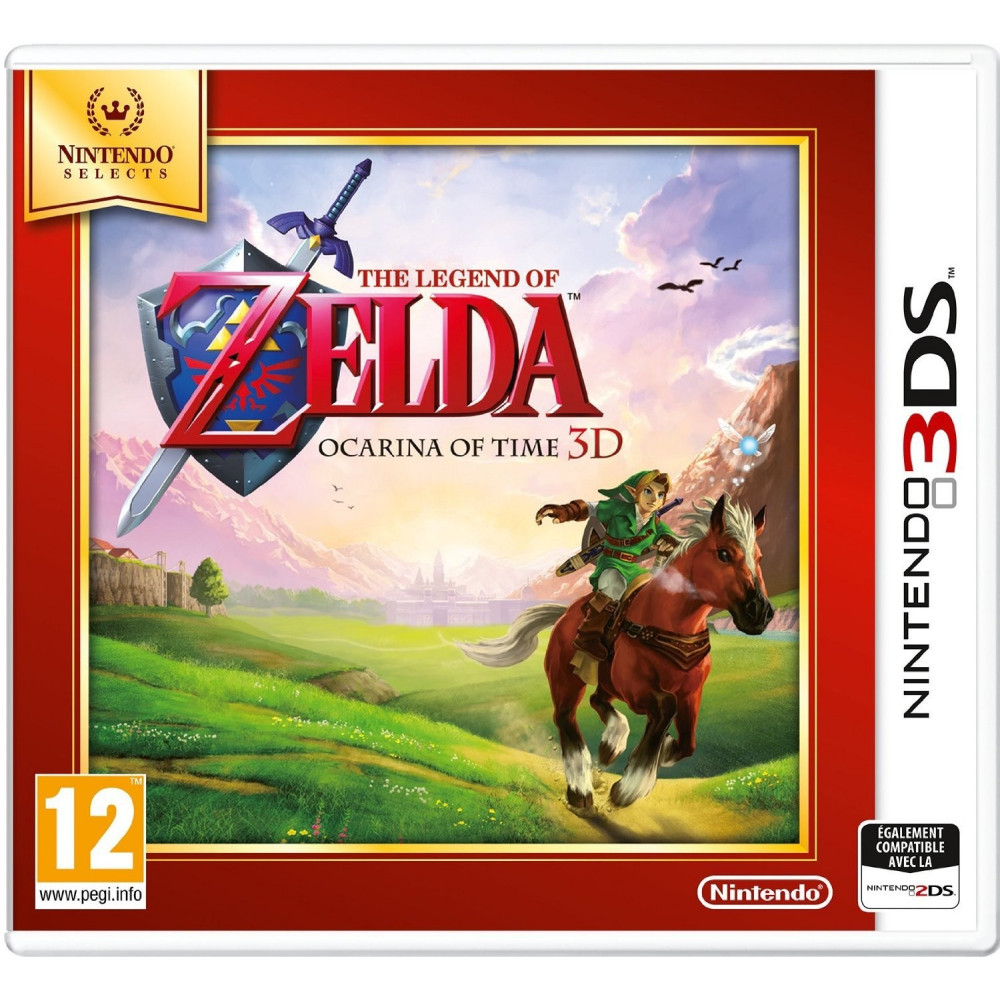 THE LEGEND OF ZELDA OCARINA OF TIME 3D NINTENDO SELECTS 3DS UK OCCASION