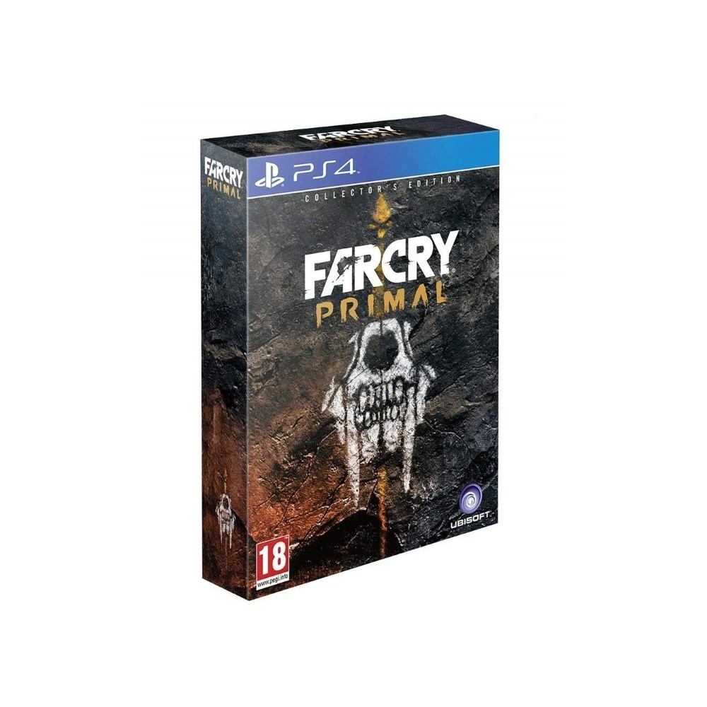 FARCRY PRIMAL COLLECTOR PS4 FR OCCASION