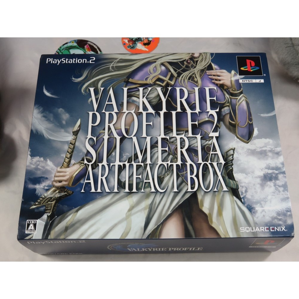 VALKYRIE PROFILE 2 SILMERIA ARTIFACT BOX PS2 NTSC-JPN NEW(SEALED)