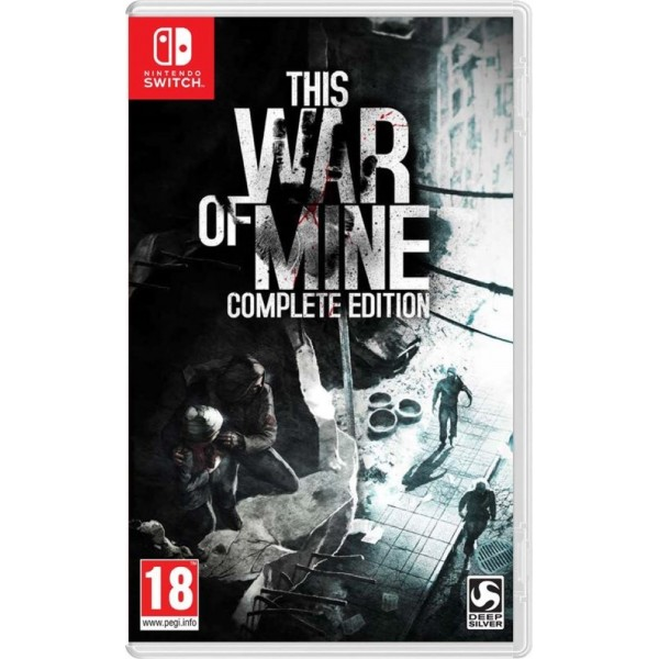 THIS WAR OF MINE COMPLETE SWITCH FR OCCASION