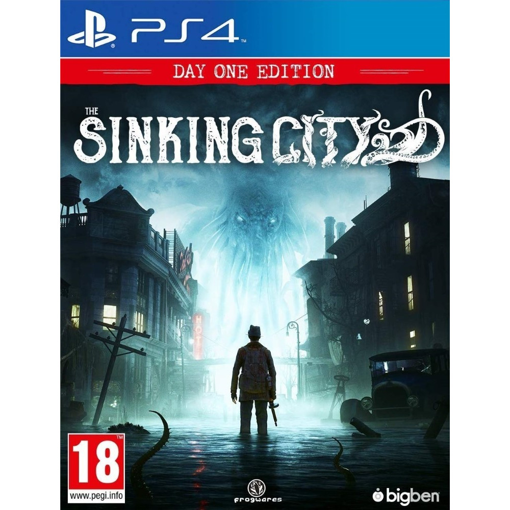 THE SINKING CITY DAY ONE EDITION PS4 FR OCCASION