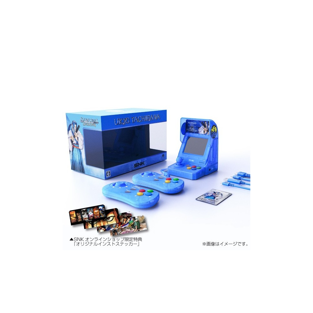 CONSOLE NEOGEO MINI UKYO TACHIBANA Ver. LIMITED EDITION JPN NEW