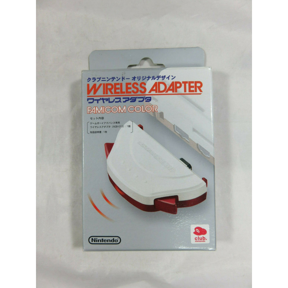 WIRELESS ADAPTER FAMICOM COLOR GAMEBOY ADVANCE JAPAN CLUB NINTENDO RARE