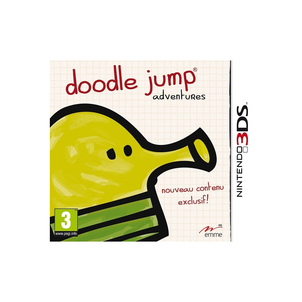 DOODLE JUMP ADVENTURES 3DS FRA OCCASION