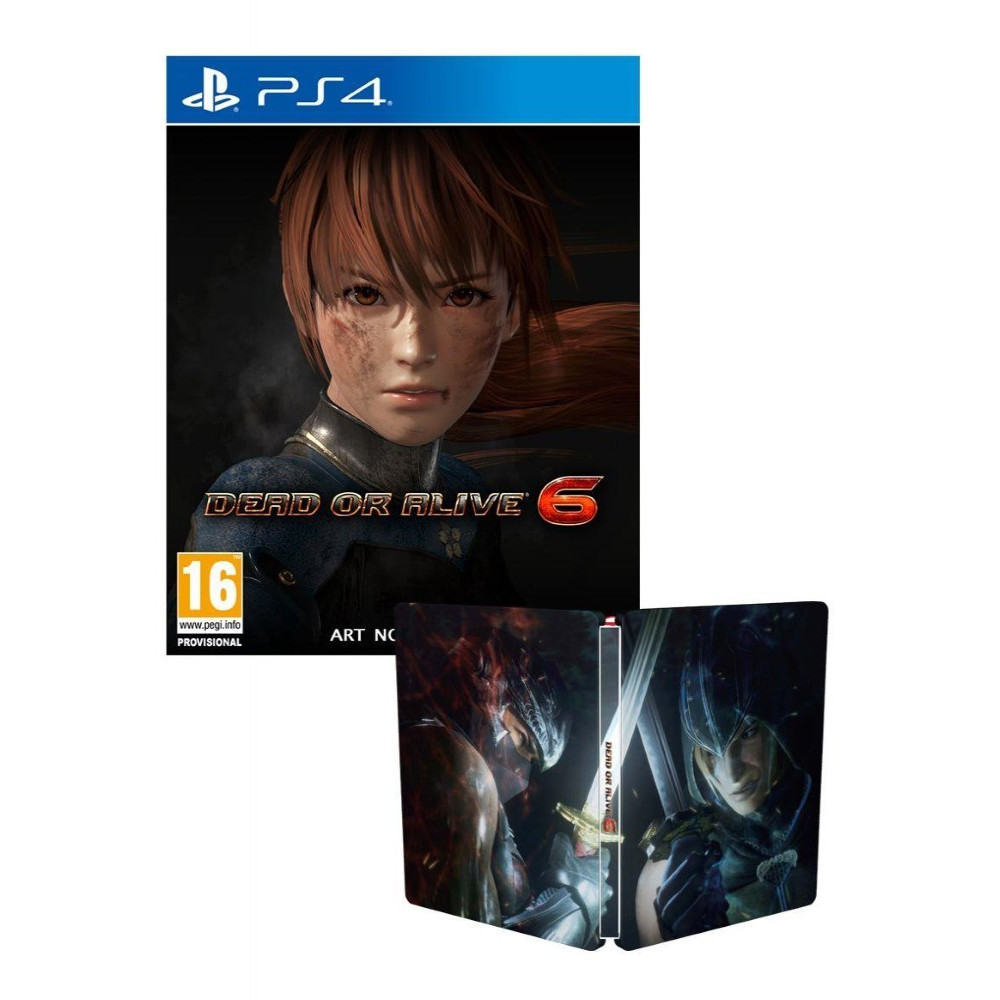 DEAD OR ALIVE 6 PS4 STEELBOOK FR NEW