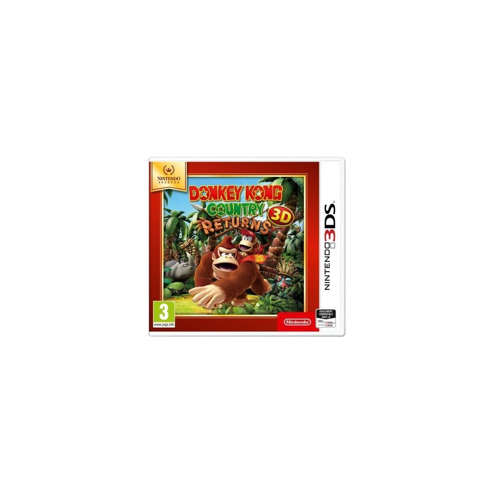 DONKEY KONG COUNTRY RETURNS 3D NINTENDO SELECTS 3DS FR OCCASION