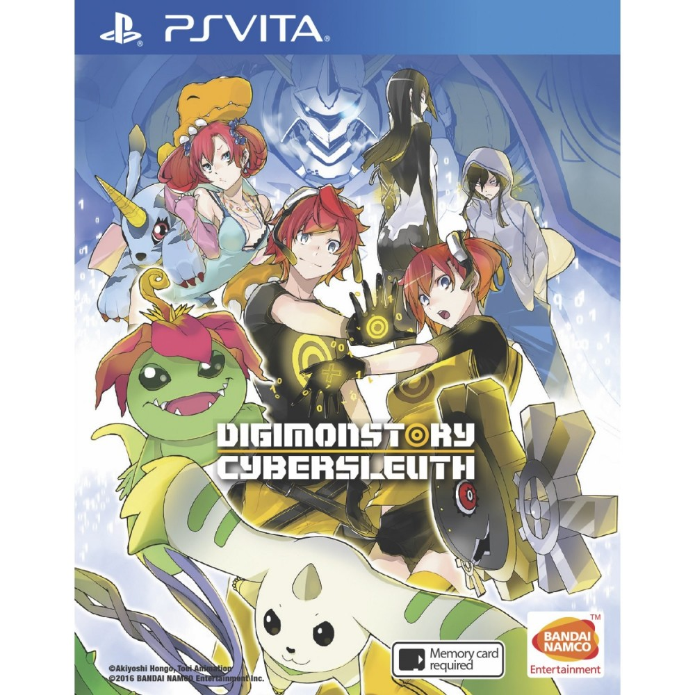 DIGIMON STORY CYBER SLEUTH PSVITA ASIAN