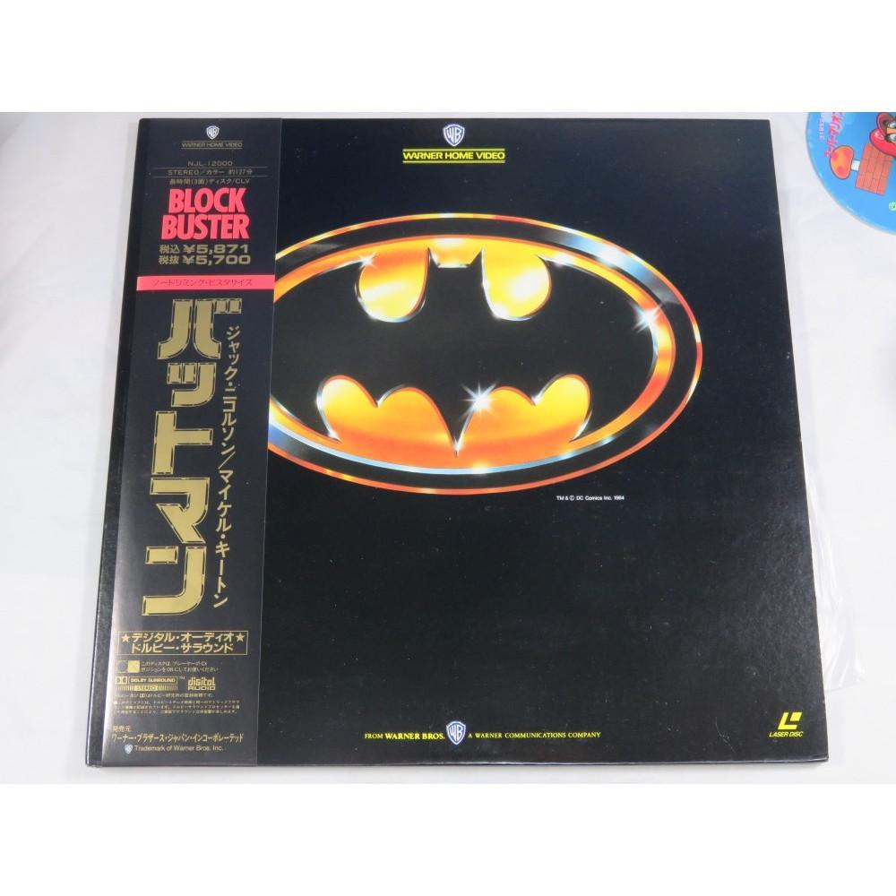 BATMAN LASER DISC NTSC-JPN OCCASION