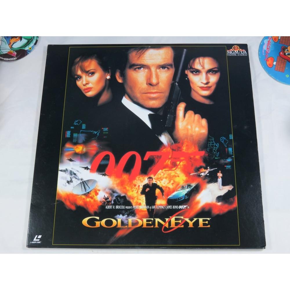 007 GOLDENEYE LASER DISC NTSC-JPN OCCASION