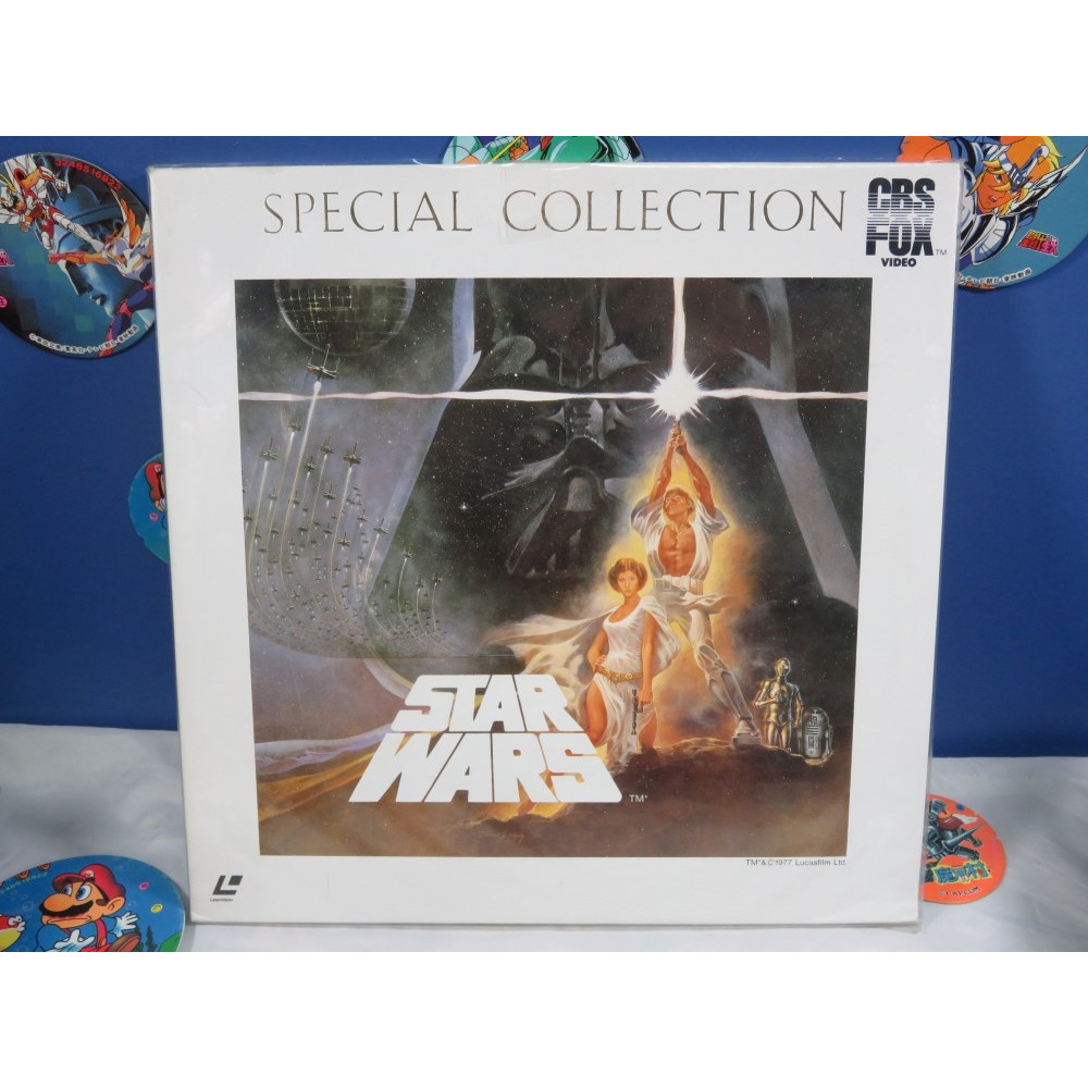STAR WARS SPECIAL EDITION LASER DISC NTSC-JPN OCCASION