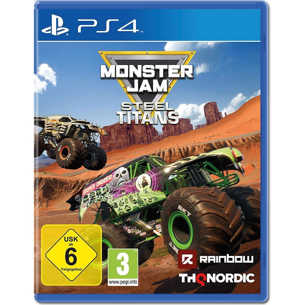 MONSTER JAM STEEL TITANS PS4 EURO OCCASION