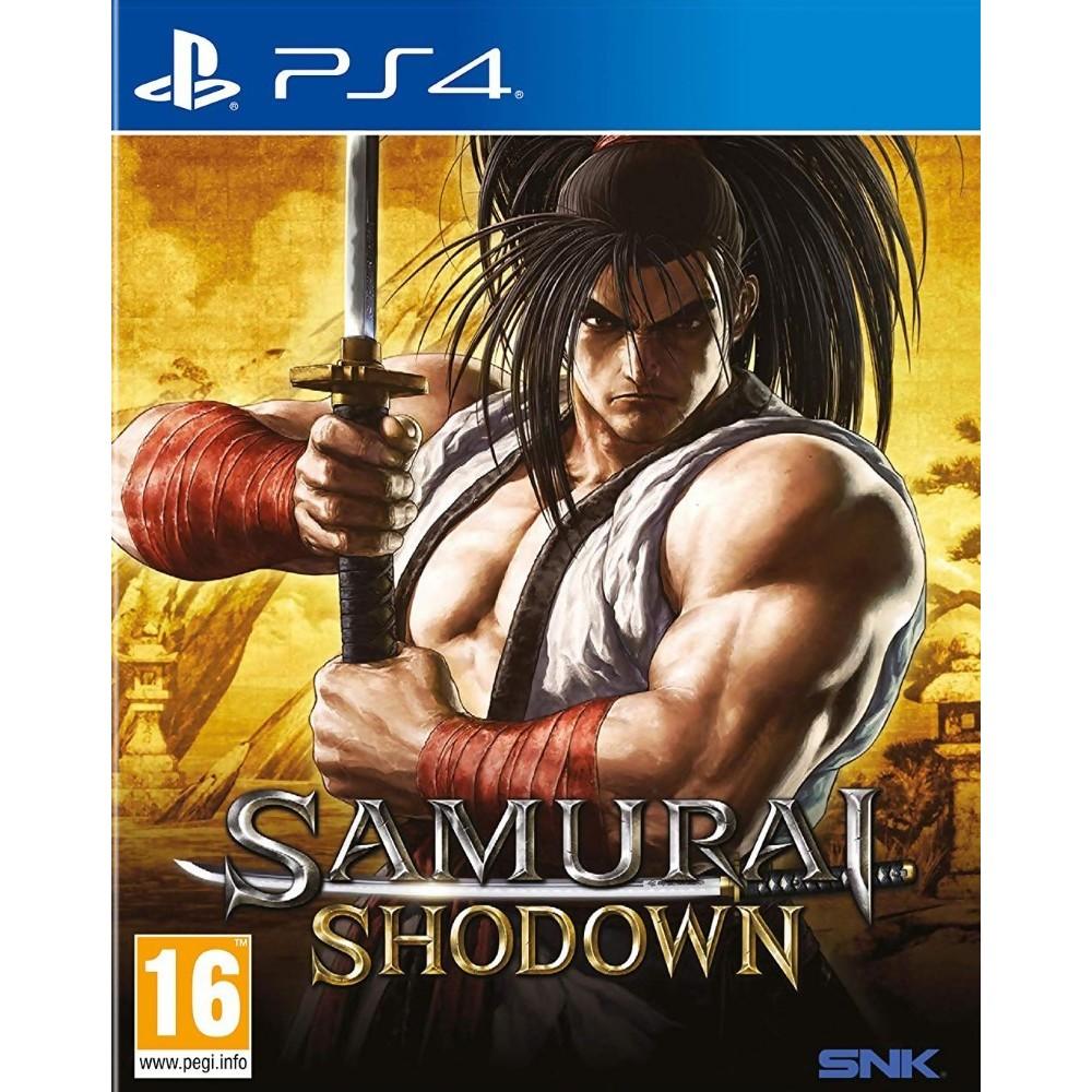 SAMURAI SHODOWN PS4 UK OCCASION