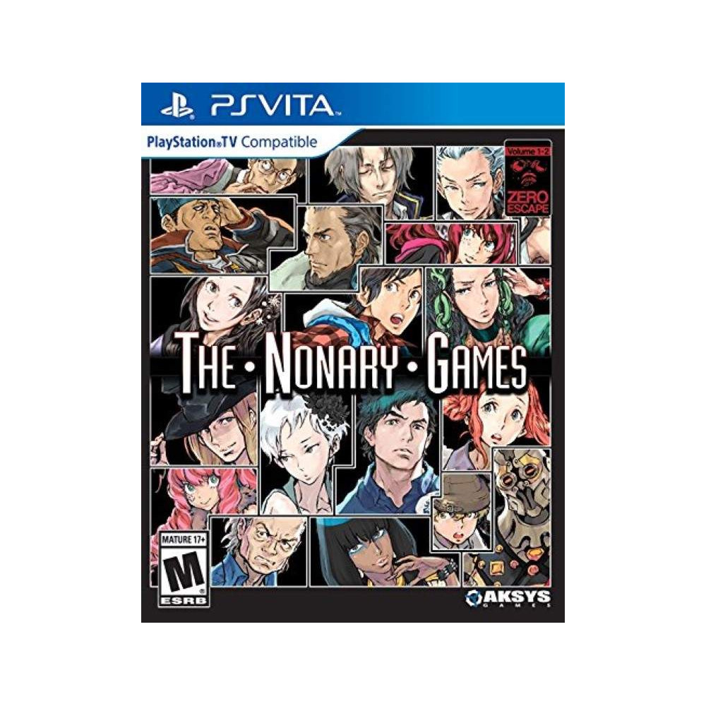 ZERO ESCAPE THE NONARY GAME PSVITA US OCCASION