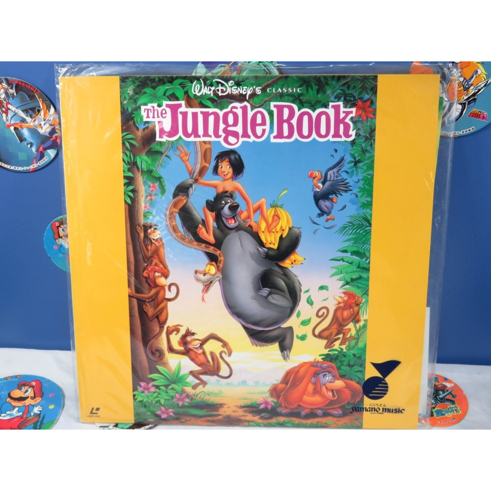 THE JUNGLE BOOK LASER DISC NTSC-JPN OCCASION