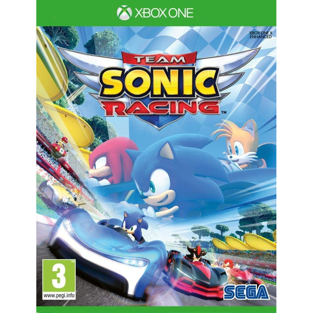TEAM SONIC RACING XBOX ONE FR OCCASION