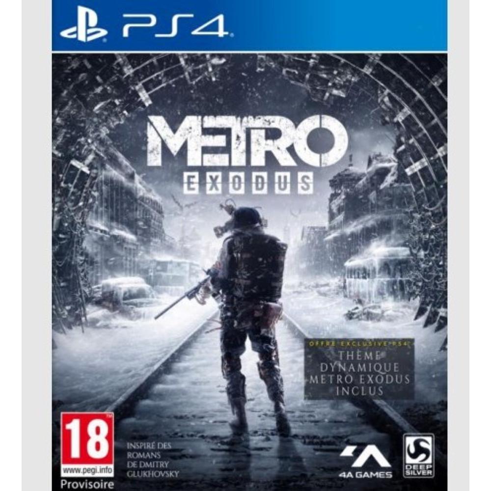 METRO EXODUS PS4 EURO/FR OCCASION